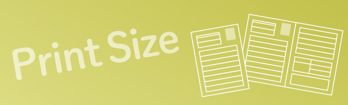 履歴書を印刷する際のサイズは?